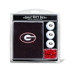 Georgia Bulldogs Embroidered Golf Gift Set