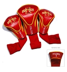 Iowa State Cyclones Golf Contour 3 pack Head Covers