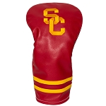 Southern California Trojans Vintage Golf Driver Head Cover