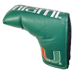 Miami Hurricanes Vintage Blade Golf Putter Cover