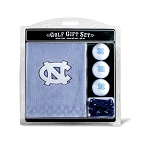 North Carolina Tar Heels Embroidered Golf Gift Set