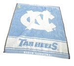 North Carolina Tar Heels Woven Golf Towel