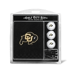 Colorado Buffalos Embroidered Golf Gift Set