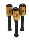 Colorado Buffalos Set of 3 Graphite Head Covers